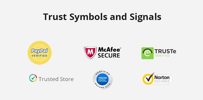 trust symbols and signals