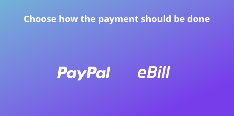 Choose the Payment Method