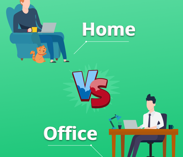 Home vs Office Work