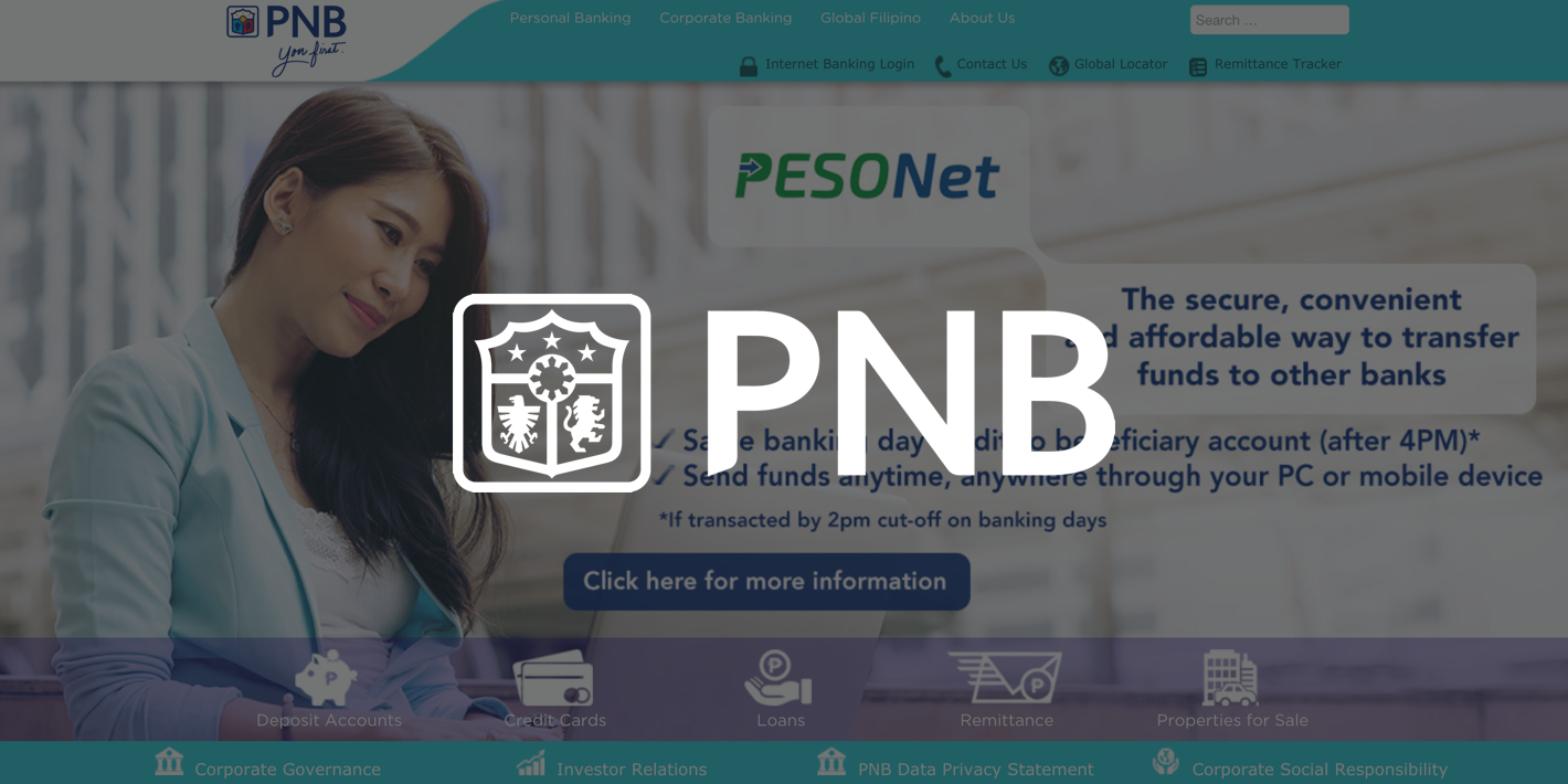 use PNB send money to Philippines