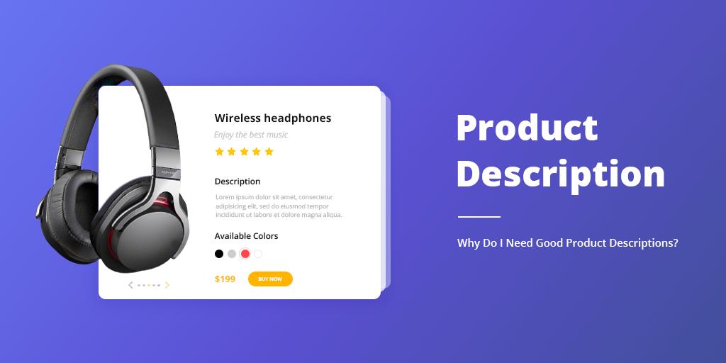 product description for e-commerce
