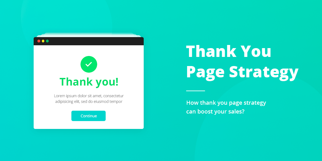 Thank You Page Strategy