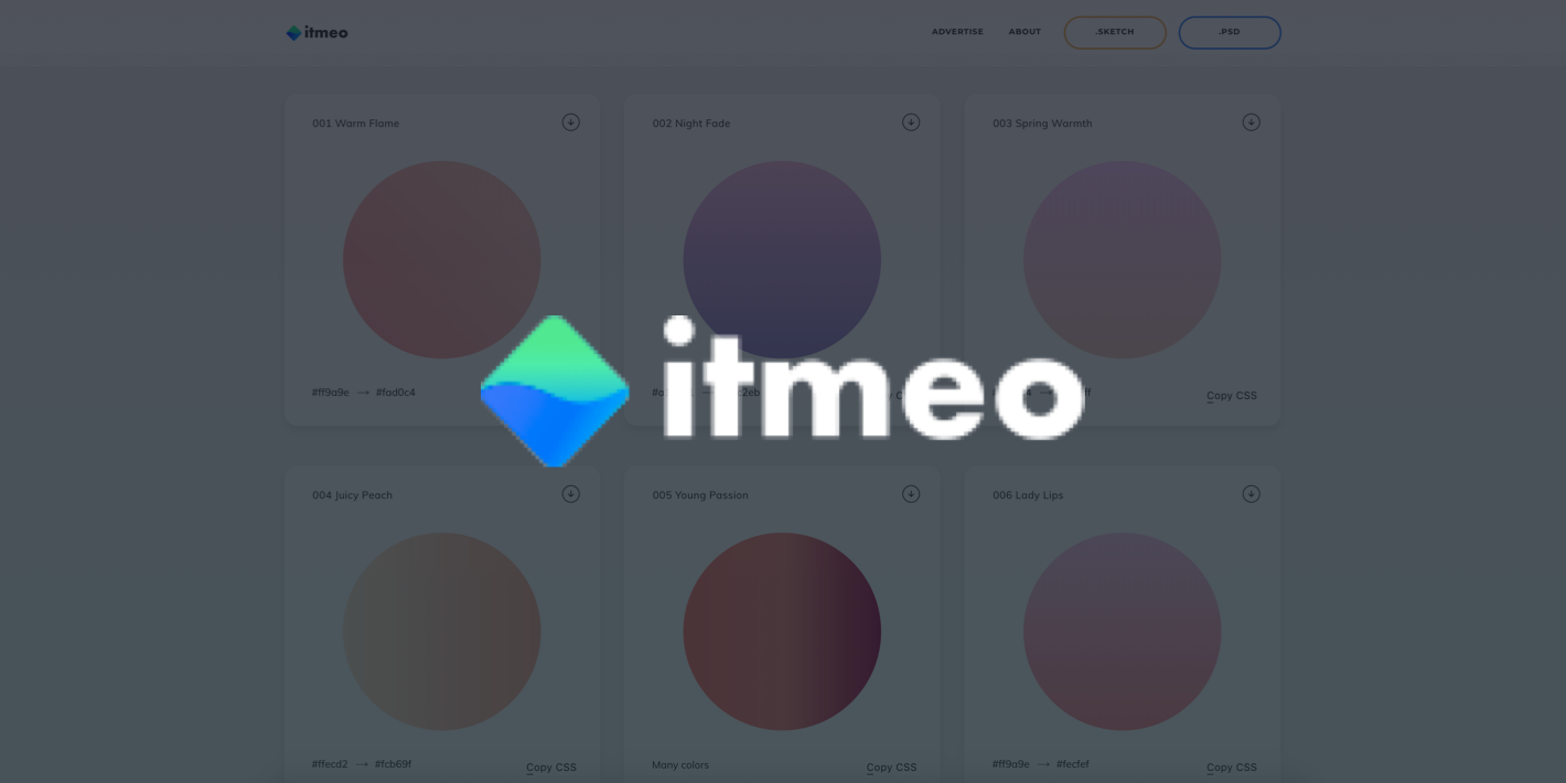 Web Gradients from itmeo