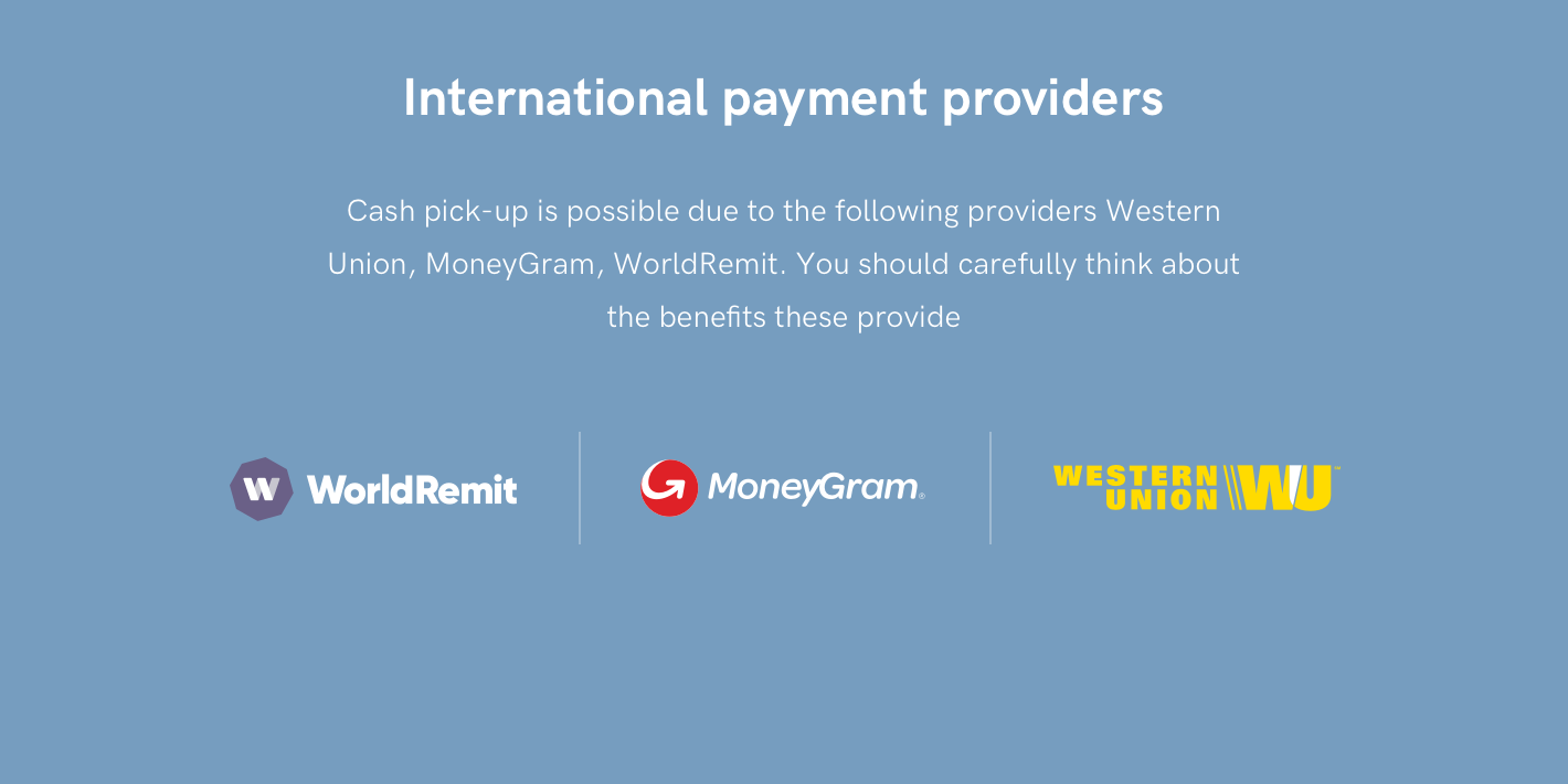 International Payment Providers