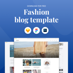Free Fashion Blog Template