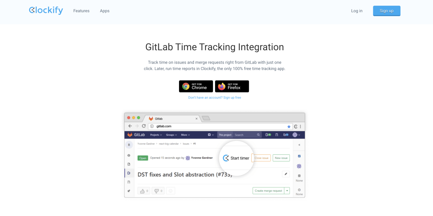 Clockify and GitLab Integration