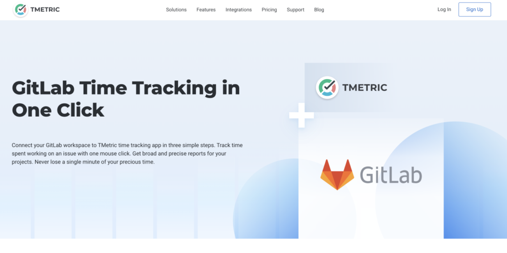 TMetric and GitLab Integration